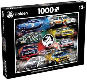 Holden Motorsport Legends 1000 Piece Jigsaw Puzzle Holden Racing Cars NEW