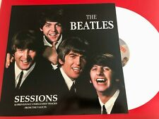 THE BEATLES  - SESSIONS  - RARE WHITE LP IMPORT