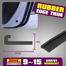 "120"" J Shape PVC EPDM Rubber Door Window Edge Seal Trim Strip Car Van Truck Boat"