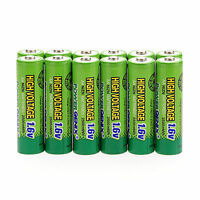 2/4 PCS Ni-Zn 1.6V 2500mWh AA 2A Rechargeable Batteries For RC Toys Lights