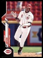 2020 Topps Series 2 Base Black #377 Phillip Ervin /69 - Cincinnati Reds