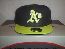 Oakland Athletics New Era 59Fifty Fitted Hat Size 8 NWT Retro 5950 MLB Baseball
