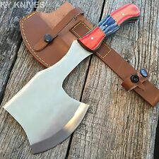 TOMAHAWK Survival Tactical Throwing Axe Hunting Knife Full Tang Hatchet AXE-03-S