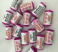Personalised Mini Love Hearts Wedding Favours/Sweets 01