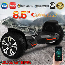 "8.5"" Wheels Off Road Bluetooth Electric Self Balancing Scooter Hoverboard UL2272"
