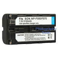 Replacement For Sony NP-F550 NP-F330 NP-F530 NP-F570 NP-F730 NP-F750 Battery