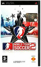 VIDEOGIOCO PSP SONY  WORLD TOUR SOCCER 2