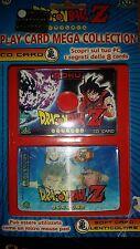 """DRAGON BALL Z-""""GOKU"""" CD PLAY CARD MEGA COLLECTION- Giochi Preziosi  2"""
