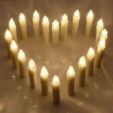20 LED Kerzen Spitzkerzen mit Fernbedienung Timerfunktion Wasserdicht viele Modi