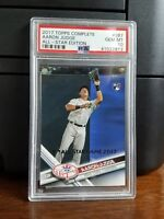 2017 Topps All-Star Edition Aaron Judge Yankees Rookie Card #287 PSA 10 Gem Mint