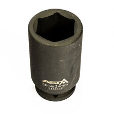 "546634P 34mm 3/4"" Dr Long Impact Socket 6 Point (6PT) Heavy Duty 90mm Length"