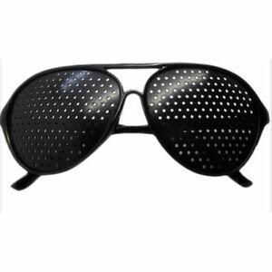 Eyesight Improvement Vision Care Exercise Eyewear Pinhole Training Glasses A8M3