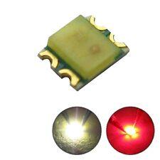 S467 10 Stk. DUO Bi-Color LED SMD 0605 warmweiß / rot Lichtwechsel Loks Wendezug