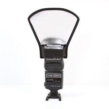 Universal Flash Speedlite Diffuser Softbox Silver White Reflector Reflective New