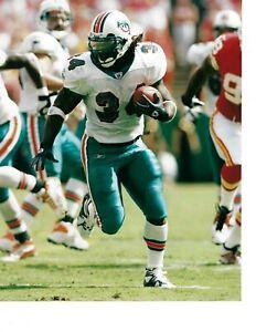 8x10 photo football Ricky Williams, Miami Dolphins
