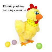Kinglang Laying Eggs Chicken Plush toy Electric Hen Musical Dancing Baby Gifts !