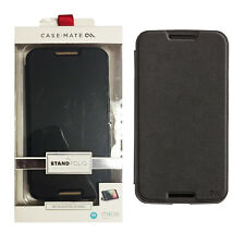 Case-Mate Stand Folio Case with Credit Card Slot For Google Nexus 6 - Black