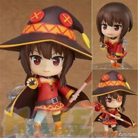 Anime Nendoroid 725 Konosuba Megumin Action Figure Toys Collection 10cm New