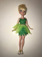 "Disney Fairies  Doll Jakks Tinker Bell Fairy 2010 9"" W/ clothes & Shoes"