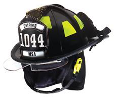 MSA Cairns 1044 Defender/Bourke Firefighter Helmet
