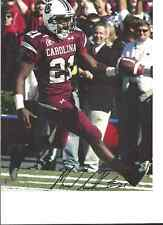 MARCUS LATTIMORE SOUTH CAROLINA GAMECOCKS SIGNED 8X10 PHOTO  W/COA 15