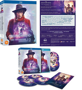 DOCTOR WHO 75-79 (1974-1975) TOM BAKER Series 1 The Collection Season 12 BLU-RAY