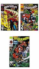 Three 1990 Spider-Man October #3, November #4, December #5 - NEVER READ s6