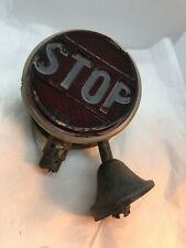 Antique Auto Parts Rear Vintage Signal Glass Part