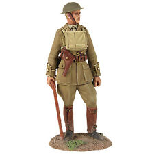 Britains Soldiers 23075 British Infantry Officer Standing With Walking Stick Ww1