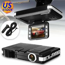 2 In 1 HD Car Camera DVR Dash Cam Recorder + Radar Laser Speed Detector Alert