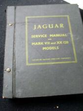 Jaguar XK 120 Service Manual 1950