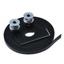 3M GT2 Timing Belt + 2pcs GT2 Pulley 20T Bore 5mm 3D Printer For RepRap Prusa