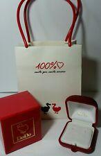100% AMORE DoDo Pomellato set box scatola busta confezione x orecchini