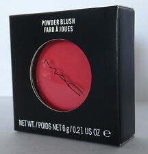 MAC Powder Blush - FRANKLY SCARLET - Brand New In Box 100% Authentic
