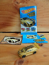 Hot Wheels Mystery Models 2015 *Chase* Gold Loop Coupe (Unopened) (A+/A)
