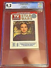 TV Guide v53 #18 May 1, 2005  CGC 9.2 Princess Leia Padme Star Wars Hologram