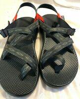 Chaco Men's Z2 Classic Sport Sandal - Size 12 M Gray Black Pattern New in Box