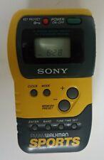 Sony SRF-M70 Walkman Sports FM/AM Portable Radio Unit Only Tested Works
