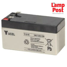 Yucel 12v 1.2Ah 12 Volt 1.2Ah SLA Burglar Alarm Battery