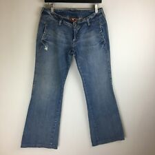 Lucky Brand Jeans - Brass Knuckle Cinch Back Bootcut - Tag Size: 6 (31x31) #3584