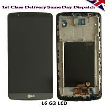 For LG G3 D850 D855 LCD Screen Display with Digitizer Touch & Bezel Frame Grey