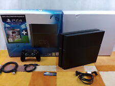 PS4 Playstation 4 1TB Jet Black +Zubehörpaket:DualShock Controller  OVP Sehr Gut
