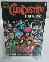Clandestine Blood Relative Crimson Crusader New Marvel HC Hard Cover Sealed
