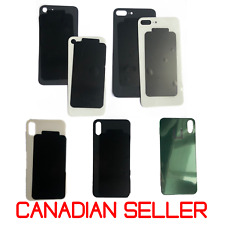 OEM iPhone Back Glass Rear Back Door Replacement Part for 8 8 Plus and X