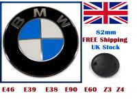 BMW Emblem Bonnet Badge Boot Hood Trunk 82mm E30 E36 E46 3 5 7 X Series SALE