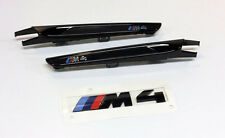 BMW M4 Competition Black Trim and Emblem Kit 51148068579 51712356982/983 F82 F83