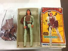 """Vintage 11"""" Marx Geronimo In Box! Complete! Free Shipping!"""
