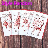 papier schneiden falten grußkarten handarbeit. xmas - baum weihnachtsdekoration