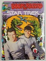 "Star Trek 1979 Peter Pan Book & Record Set Brand New ""Dinosaur Planet"""