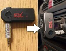 Bluetooth Manos libres Coche AUX Receptor Inalámbrico de Música Audio 3.5mm Jack